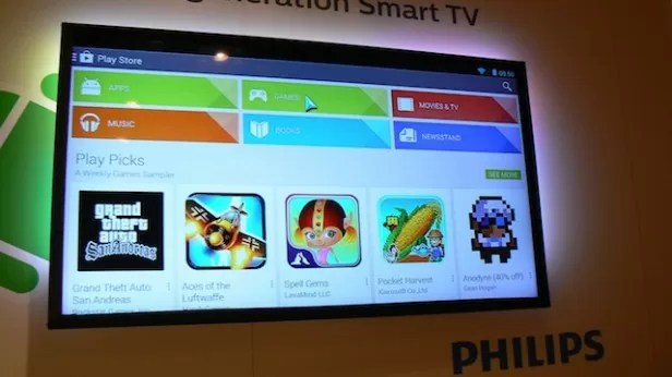Philips Android TV Google Play