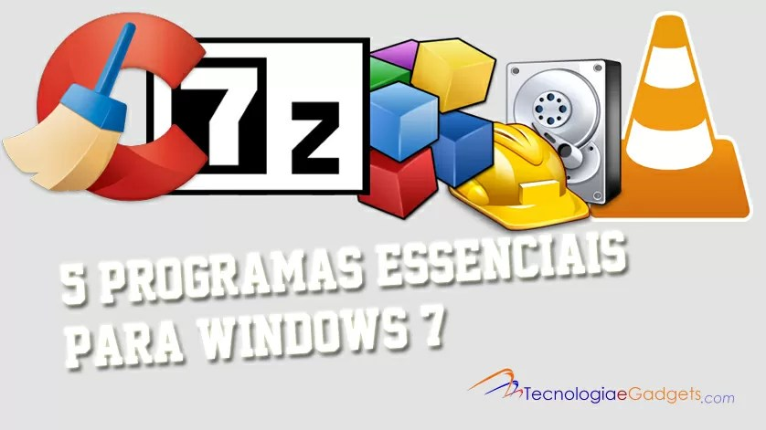 Programas para o Windows 7