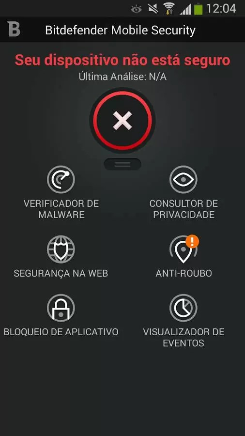 Bitdefender Mobile Security & Antivirus - Verificador de Malware