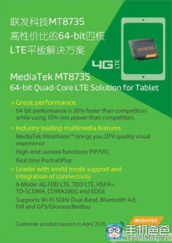 MT8735 MediaTek