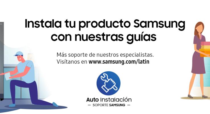 Instalación paso a paso para los clientes Samsung