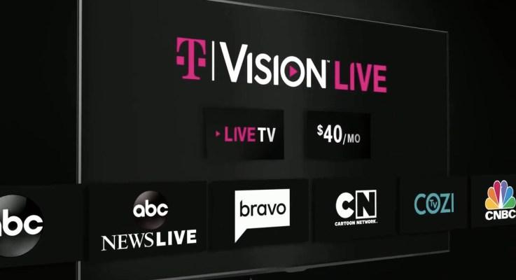 T‑Mobile simplifica la televisión con los servicios TVision