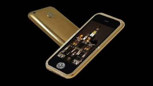 El cuarto celular mas caro del mundo: Fold Striker iPhone supreme - usd 3.2 millones