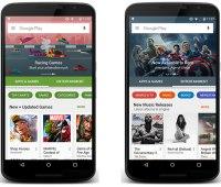 Google actualiza el diseño de su fabulosa Play Store