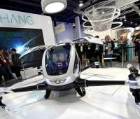 EHANG 184, una especie de dron tripulado