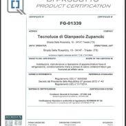 Regolamento CE 303/2008 D.P.R. 27/01/2012 n.43 ICMQ n.FG-01339