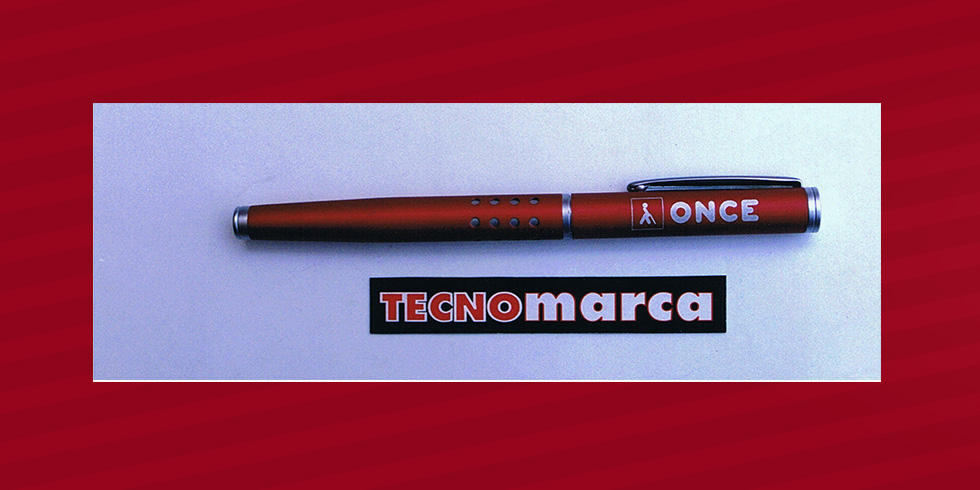 grabado láser bolígrafo Once