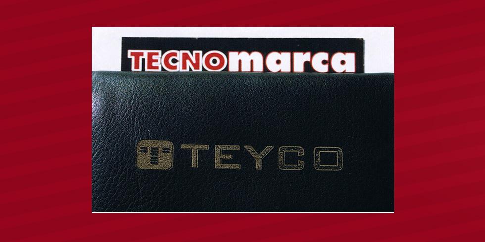 grabado láser monedero Teyco