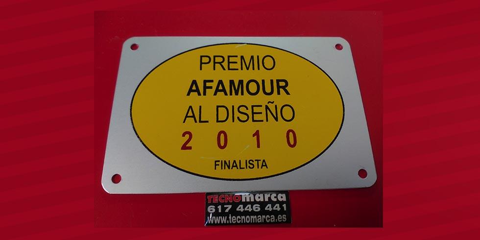 Placa aluminio en serigrafía_1