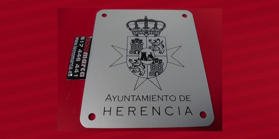 Placa aluminio en serigrafía_7