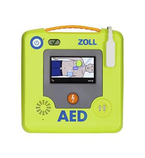 ZOLL AED 3 DESFIBRILADOR AUTOMÁTICO EXTERNO (ECG OPCIONAL)