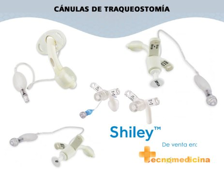 Cánulas Shiley