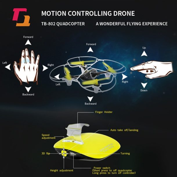 Image result for  Techboy TB-802 motion-controlled drone