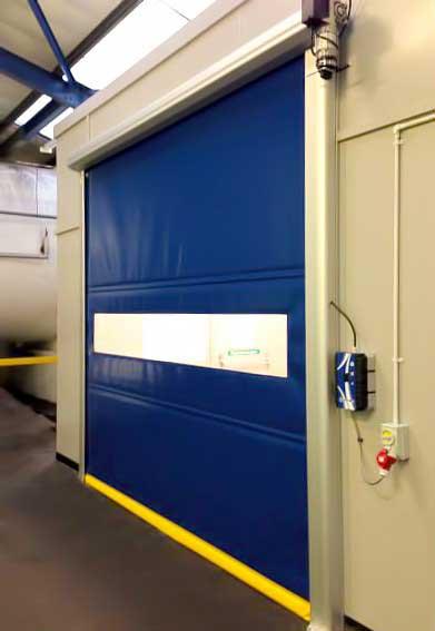 Porta automtica industrial  Tecnoportas