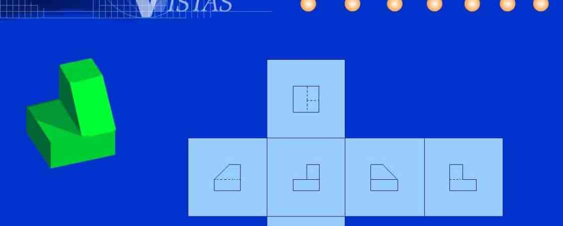 Vistas. Geometría Descriptiva- Dibujo