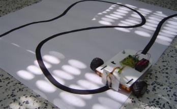 Robot Seguidor de Líneas- Electrónica