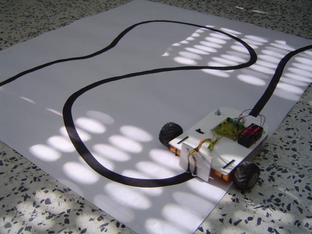 Robot Seguidor de Líneas- Proyectos, Electrónica, Robótica