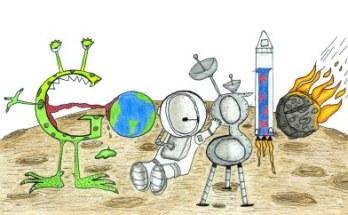 Un niño de 7 años gana el concurso al Doodle del año- Diseño