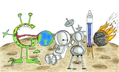 Un niño de 7 años gana el concurso al Doodle del año- Diseño, Recursos TIC