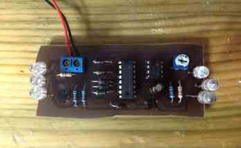 Proyecto para montar juego de luces estroboscópicas- Proyectos
