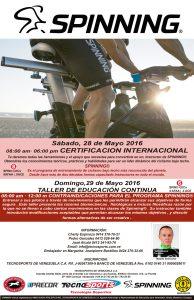 Certificación Internacional Instructores de Spinning Margarita 2016