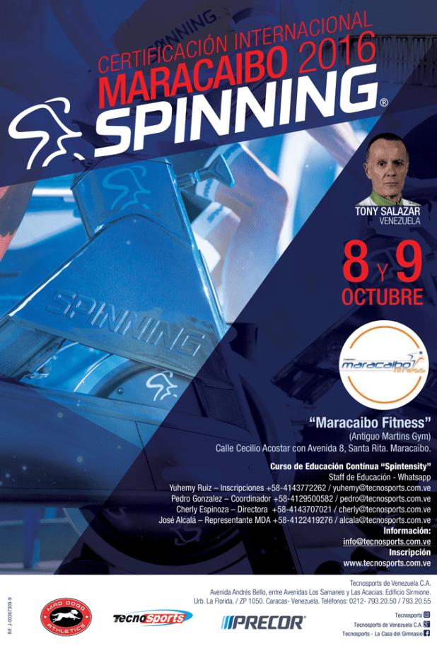Certificación Internacional de Spinning Maracaibo 2016