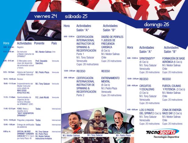 Programa NGSF-CARACAS 17 TECNOSPORTS