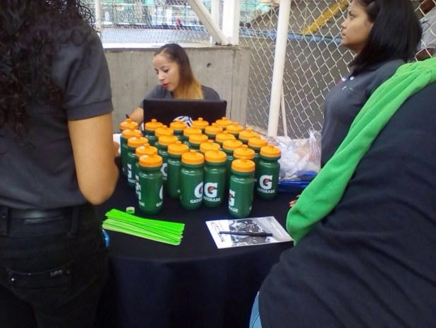 Empresas Polar brindo a los participantes Cooler de hidratación y bebida. Foto: José Alcalá