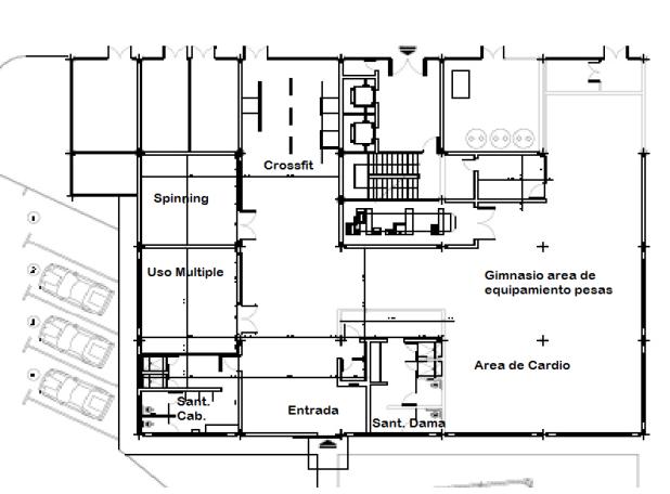 Diseño Arquitectónico para la ampliación y modernización del Gimnasio de Musculación Julio Cesar León del IND