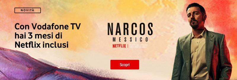 Vodafone Tv e Netflix