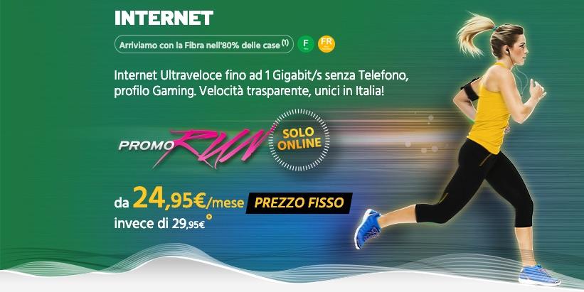 Fastweb RUN solo Internet
