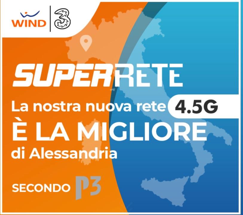 Super Rete 4.5G di Wind-Tre