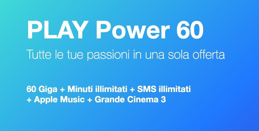 Tre Play Power 60