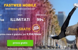 Fastweb Mobile offerta