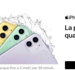 iPhone 11 con 3 Italia