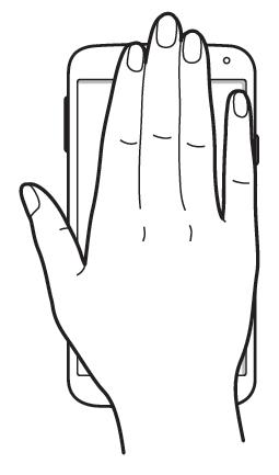 Usare Samsung Galaxy S5 senza mani con le Air Gesture