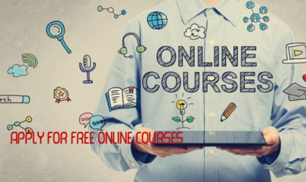 Apply for free online courses