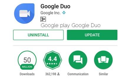 Google play Google Duo