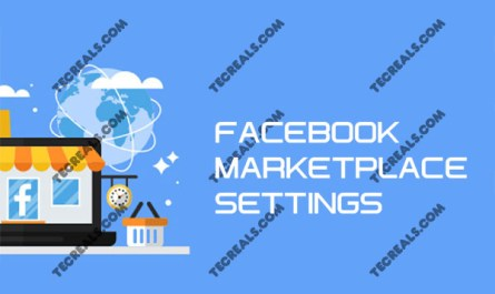 Facebook Marketplace Settings