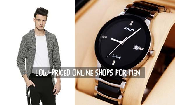 Low Priced Online Shops for Men – Must-Know Online Shops for Men