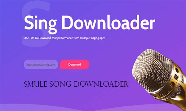 Smule Song Downloader