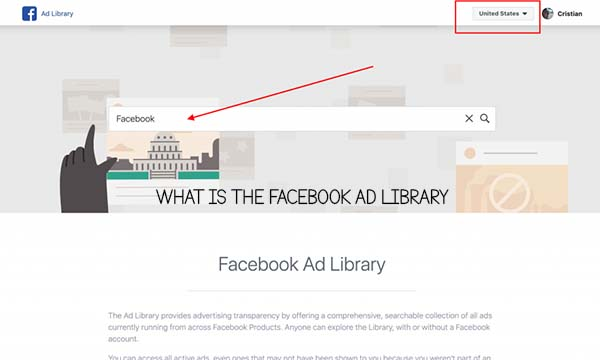 What is the Facebook Ad Library