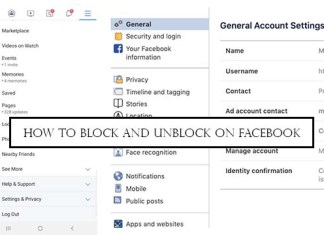 How to Block and Unblock on Facebook