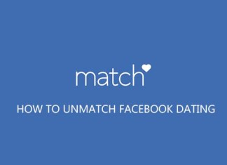 How to Unmatch Facebook Dating