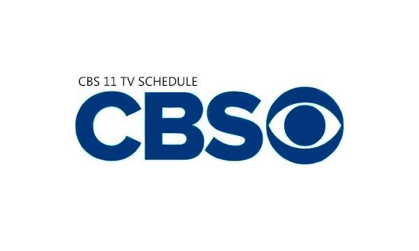 CBS 11 TV Schedule
