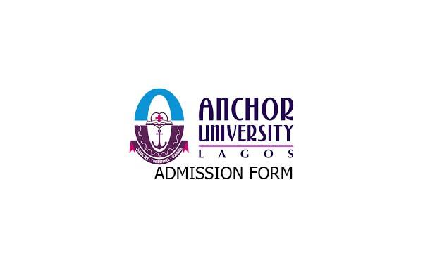 Anchor University Lagos (AUL) JUPEB Admission Form