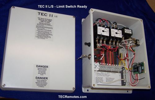small resolution of tec ii l s limit switch ready two motor remote