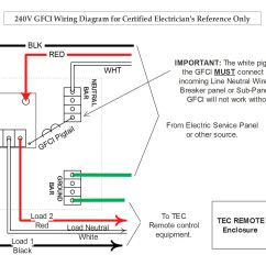 Gfci Wiring Diagrams Ford E350 Radio Diagram And Installation