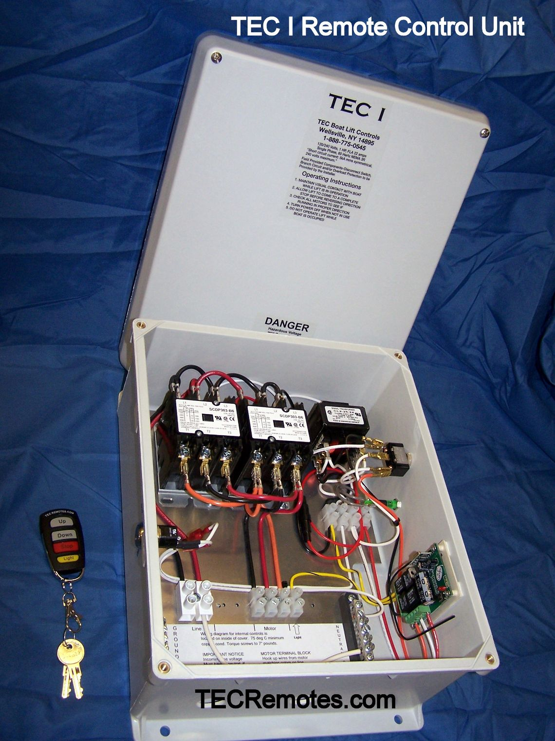 hight resolution of tec i remote control