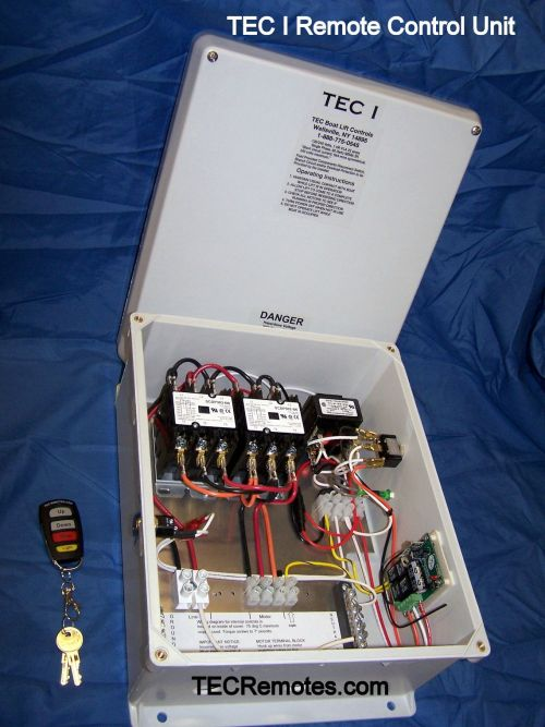 small resolution of tec i remote control